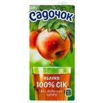 Сок Садочок яблочный 0,95л