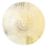 Zeller Cut Out Support under Plate PVC 41cm gold