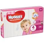 Huggies Ultra Comfort Girl 4 Baby Diapers