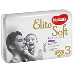 Підгузки-трусики Huggies Elite Soft Platinum розмір 3 для дітей 6-10кг 58шт