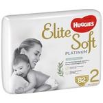 Підгузки-трусики Huggies Elite Soft Platinum розмір 2 для дітей 4-8кг 82шт