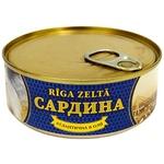 Riga Zelta Atlantic Sardines in Oil 240g