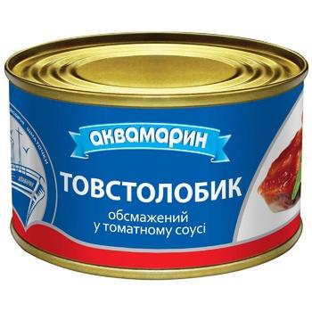 Aquamarine Fried Silver Carp in tomato sauce 230g