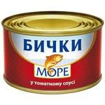 Бычки Море в томатном соусе 230г
