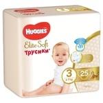 Huggies Elite Soft 3 Diapers 6-11kg 25pcs