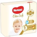 Подгузники Huggies Elite Soft 5 12-22кг 28шт