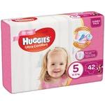 Підгузники Huggies Jumbo Ultra Comfort для дівчаток 5 12-22кг 42шт