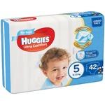 Подгузники Huggies Jumbo Ultra Comfort для мальчиков 5 12-22кг 42шт