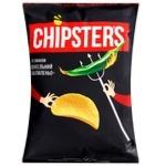 Чипсы Chipsters со вкусом адский халапеньо 130г