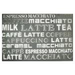 Килимок Zeller Latte Macchiato під тарілку 43,5х28,5см мокко