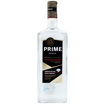 Водка Prime World Class 40% 1л - купить, цены на ЕКО Маркет - фото 1