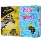 Краски гуашевые Africa 12 цветов
