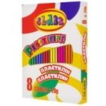 Class Plasticine 8 colors 160g