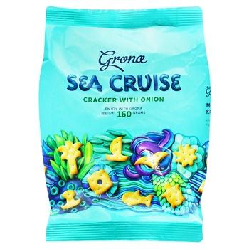 Крекер Grona Sea Cruise з цибулею 160г