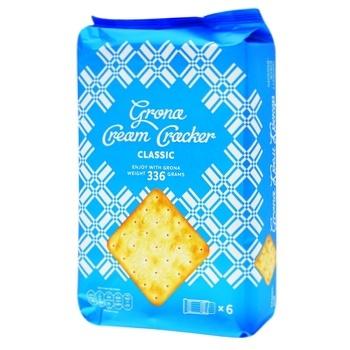 Grona Classic Cream Cracker 336g - buy, prices for CityMarket - photo 1
