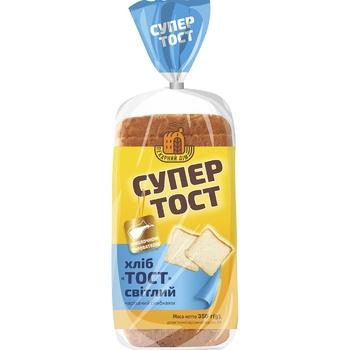Хлеб Киевхлеб Супер тост светлый нарезанный 350г