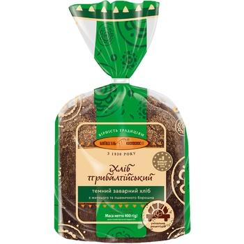 Хлеб Киевхлеб Прибалтийский темный половина нарезка 400г - купить, цены на СитиМаркет - фото 2