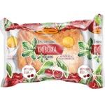 Kyivkhlib Kyivska with cherry bun 100g