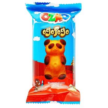 Пирожное Ozmo Ogopogo Мишка с шоколадным кремом 30г