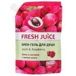 Крем-гель для душа Fresh Juice Geisha личи и малина 200мл