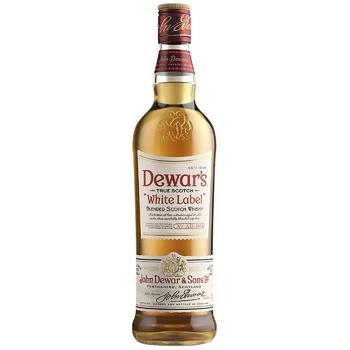 Віскі Dewar's White Label 40% 1л - купити, ціни на Метро - фото 1