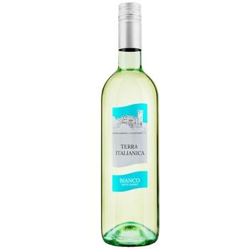 Вино Terra Fresca Бянка полусладкое белое 10% 0,75л - купить, цены на Ашан - фото 1