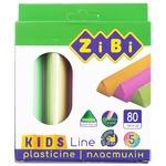 Пластилин Zibi Kids Line 5 цветов 80г
