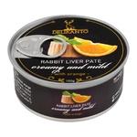 Pate Delikanto rabbit orange 100g can