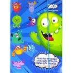 Папка ZiBi Monsters для зошитів картонна на гумках В5+