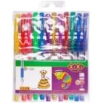 Zibi Neon&Glitter Set of Color Gel Pens 12pcs