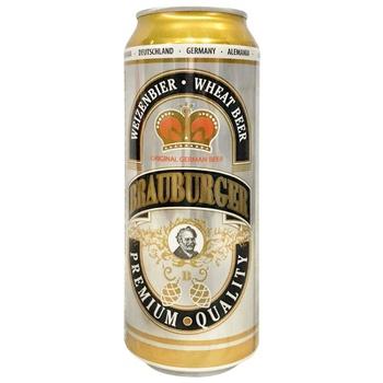 Пиво Brauburger Weizen 500мл
