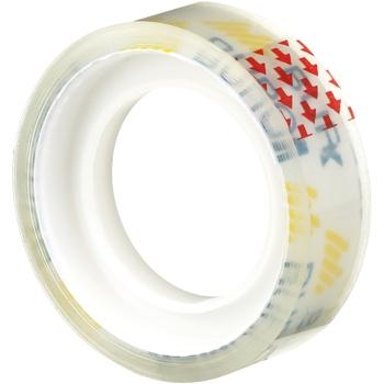 Канцелярская клейкая лента Buromax 12мм*10м прозрачная