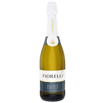 Fiorelli Brut White Brut Sparkling Wine 11% 0,75l - buy, prices for CityMarket - photo 1