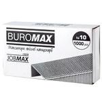 Скоби BuroMax №10 1000шт