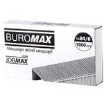 Скоби BuroMax для степлера №24/6 1000шт