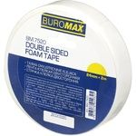 BuroMax Double Sided Tape 24mm * 2m foam base