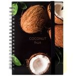 Optima Coconut Notebook B6 Plastic Cover 100 sheets