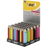 BIC Lighter J3 Midi 50pcs colors in assortment