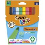 BIC Kids Visacolor XL Markers 8pcs