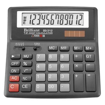 Калькулятор Brilliant BS-312 - купити, ціни на Ашан - фото 1