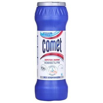 Порошок Comet Утренняя роса без хлоринолу 450г