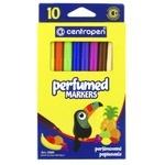 Фломастеры Centropen Perfumed цветные 10шт