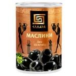 Ellada Pitted Black Olives 420g