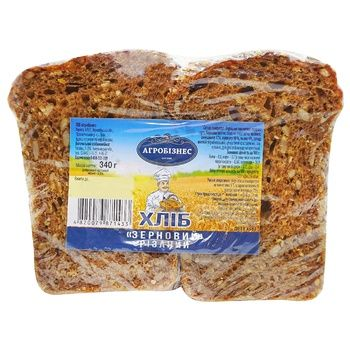 Agribusiness Grain Cut Bread 340g