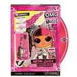 L.O.L. Surprise O.M.G Remix Rock Lady Metal Game Set with Doll