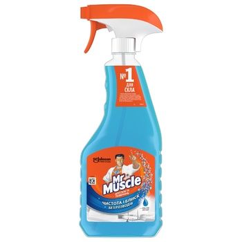 Mr. Muscle Cleaner for Glass and Surfaces with Alcohol 500ml - buy, prices for CityMarket - photo 1