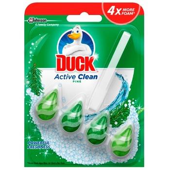 Засіб для чищення туалету Duck лісний 38,6г - купити, ціни на Ашан - фото 1