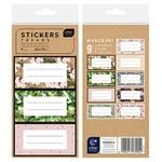 Interdruk Trends Label Sticker Set 9pcs