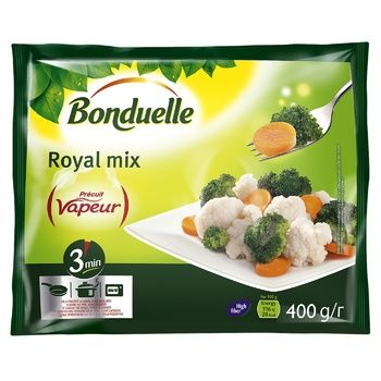 Bonduelle Royal frozen vegetables mix 400g - buy, prices for CityMarket - photo 1