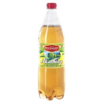 Напиток Бон Буассон Лимонад сильногазированный 1л - купить, цены на Ашан - фото 1
